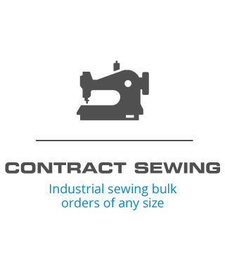 Contract Sewing - Industrial sewing bulk orders of any size