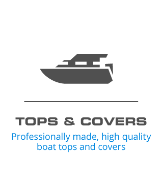 Tops and Covers - Professionally made, high quality boat tops and covers